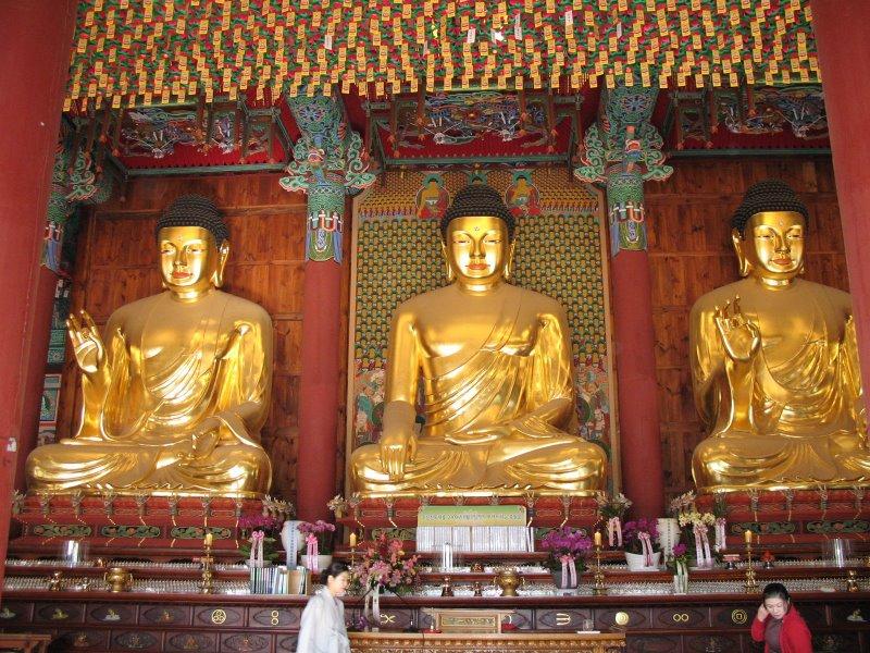 Korėja. Čogjesa šventykloje